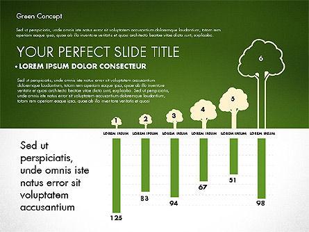Presentation Templates: Green conceito de apresentação #02784