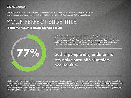 Green Presentation Concept, Slide 11, 02784, Presentation Templates — PoweredTemplate.com