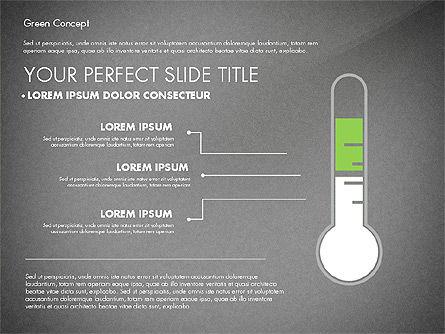 Green Presentation Concept, Slide 13, 02784, Presentation Templates — PoweredTemplate.com