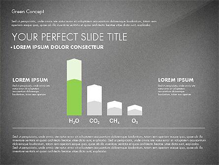 Green Presentation Concept, Slide 15, 02784, Presentation Templates — PoweredTemplate.com