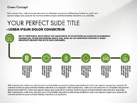 Green Presentation Concept, Slide 2, 02784, Presentation Templates — PoweredTemplate.com