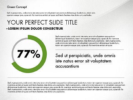 Green Presentation Concept, Slide 3, 02784, Presentation Templates — PoweredTemplate.com