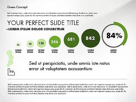 Green Presentation Concept, Slide 4, 02784, Presentation Templates — PoweredTemplate.com