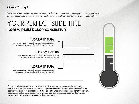 Green Presentation Concept, Slide 5, 02784, Presentation Templates — PoweredTemplate.com