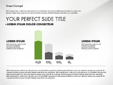 Green Presentation Concept, Slide 7, 02784, Presentation Templates — PoweredTemplate.com