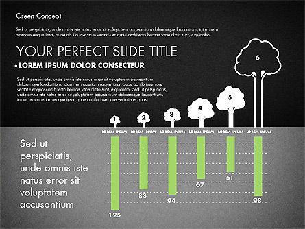 Green Presentation Concept, Slide 9, 02784, Presentation Templates — PoweredTemplate.com