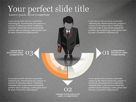 Pitch Deck Presentation with Businessman Silhouette, Slide 16, 02786, Presentation Templates — PoweredTemplate.com