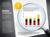 Data Driven Diagrams and Charts: Data Driven Charts Collection with Magnifier #02787