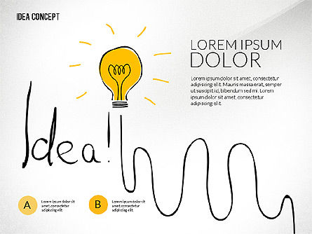 Startup Idea Concept - Presentation Template for Google