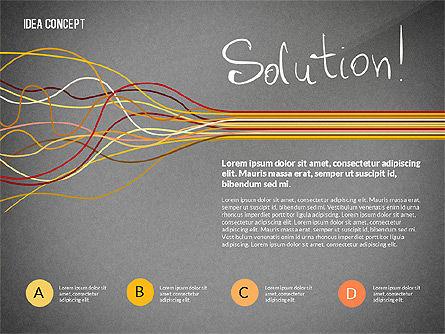 Startup Idea Concept, Slide 13, 02789, Presentation Templates — PoweredTemplate.com