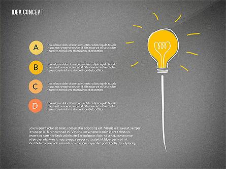 Startup Idea Concept, Slide 14, 02789, Presentation Templates — PoweredTemplate.com