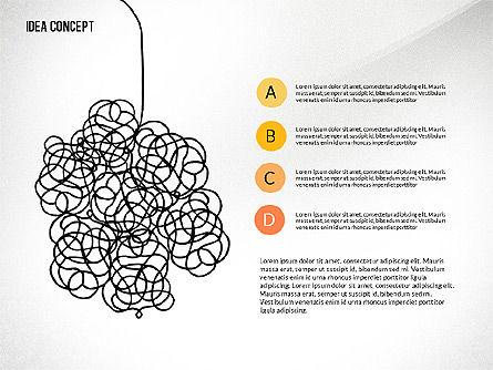Startup Idea Concept, Slide 2, 02789, Presentation Templates — PoweredTemplate.com