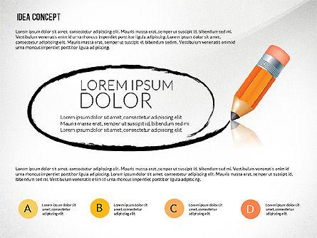 Startup Idea Concept, Slide 3, 02789, Presentation Templates — PoweredTemplate.com