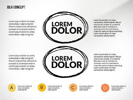 Startup Idea Concept, Slide 4, 02789, Presentation Templates — PoweredTemplate.com