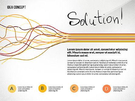 Startup Idea Concept, Slide 5, 02789, Presentation Templates — PoweredTemplate.com
