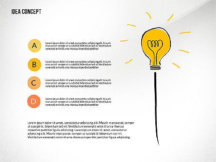 Startup Idea Concept, Slide 6, 02789, Presentation Templates — PoweredTemplate.com