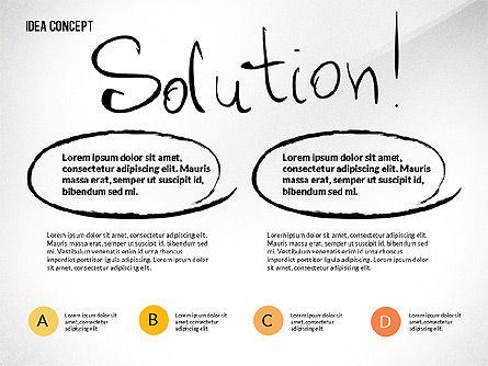 Startup Idea Concept, Slide 7, 02789, Presentation Templates — PoweredTemplate.com
