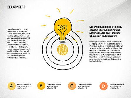 Startup Idea Concept, Slide 8, 02789, Presentation Templates — PoweredTemplate.com