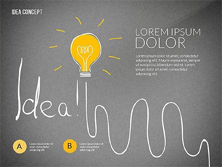 Startup Idea Concept, Slide 9, 02789, Presentation Templates — PoweredTemplate.com