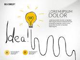 Presentation Templates: Startup Idea Concept #02789