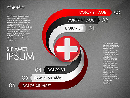 Medical Infographic with Data Driven Charts, Slide 15, 02792, Medical Diagrams and Charts — PoweredTemplate.com