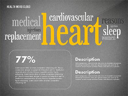 Treatment Word Cloud Presentation Concept, Slide 14, 02794, Medical Diagrams and Charts — PoweredTemplate.com