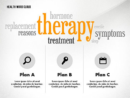 Treatment Word Cloud Presentation Concept Slide 2
