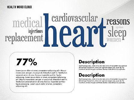 Treatment Word Cloud Presentation Concept, Slide 6, 02794, Medical Diagrams and Charts — PoweredTemplate.com