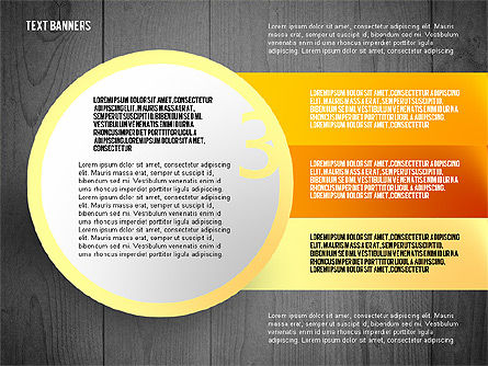Round Text Boxes with Photos, Slide 16, 02799, Text Boxes — PoweredTemplate.com