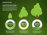 Green Presentation with Data Driven Charts#16
