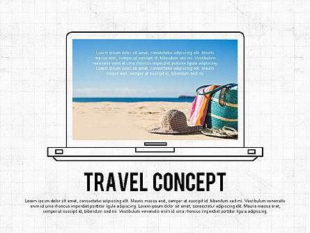 Presentation Templates: Travel Concept #02801