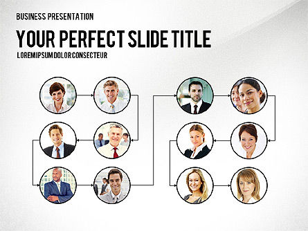 Organizational Charts: Company Structure Presentation #02802