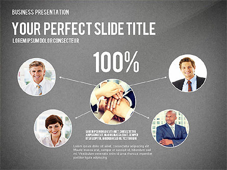 Company Structure Presentation, Slide 10, 02802, Organizational Charts — PoweredTemplate.com