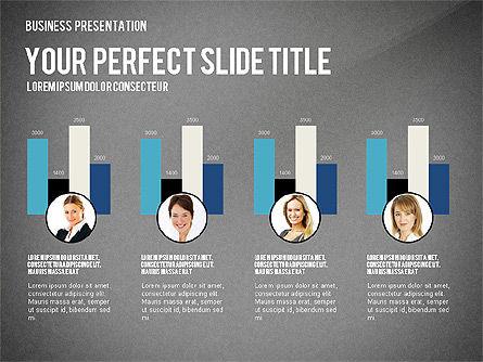 Company Structure Presentation, Slide 11, 02802, Organizational Charts — PoweredTemplate.com