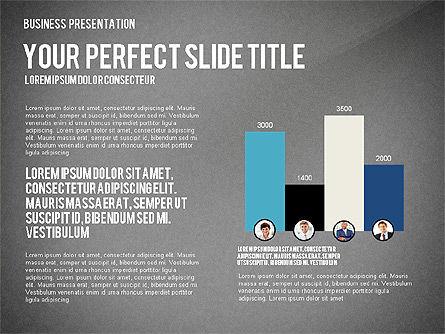 Company Structure Presentation, Slide 12, 02802, Organizational Charts — PoweredTemplate.com
