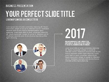 Company Structure Presentation, Slide 13, 02802, Organizational Charts — PoweredTemplate.com