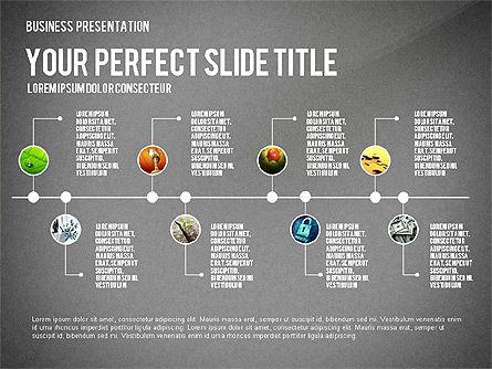 Company Structure Presentation, Slide 14, 02802, Organizational Charts — PoweredTemplate.com