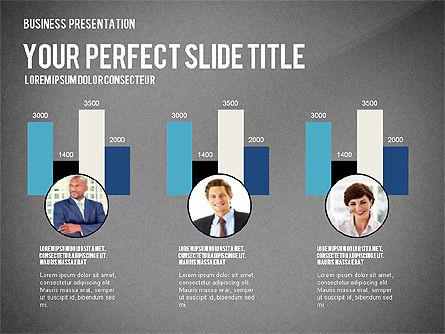 Company Structure Presentation, Slide 15, 02802, Organizational Charts — PoweredTemplate.com