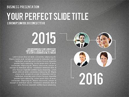 Company Structure Presentation, Slide 16, 02802, Organizational Charts — PoweredTemplate.com