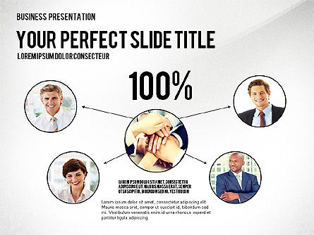 Company Structure Presentation, Slide 2, 02802, Organizational Charts — PoweredTemplate.com