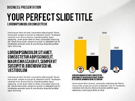 Company Structure Presentation, Slide 4, 02802, Organizational Charts — PoweredTemplate.com
