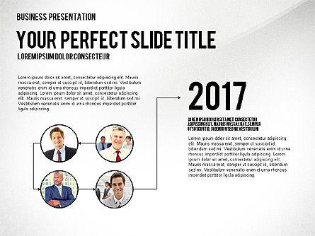 Company Structure Presentation, Slide 5, 02802, Organizational Charts — PoweredTemplate.com