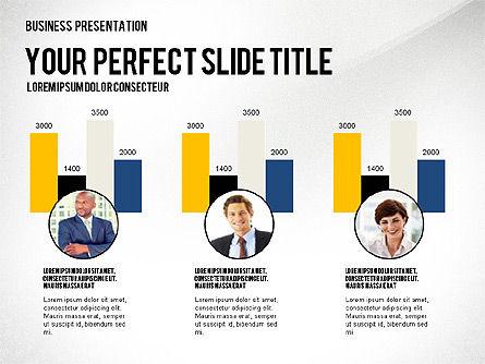 Company Structure Presentation, Slide 7, 02802, Organizational Charts — PoweredTemplate.com