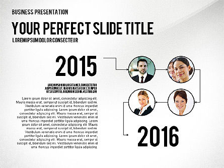 Company Structure Presentation, Slide 8, 02802, Organizational Charts — PoweredTemplate.com