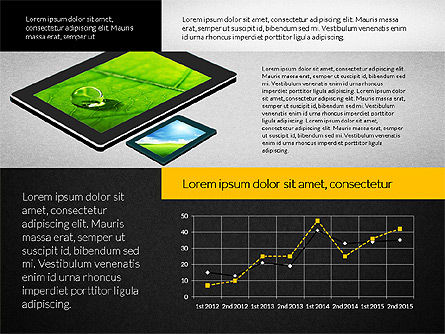 Touchpad Data Driven Presentation, Slide 16, 02806, Data Driven Diagrams and Charts — PoweredTemplate.com