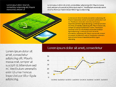 Touchpad Data Driven Presentation, Slide 8, 02806, Data Driven Diagrams and Charts — PoweredTemplate.com
