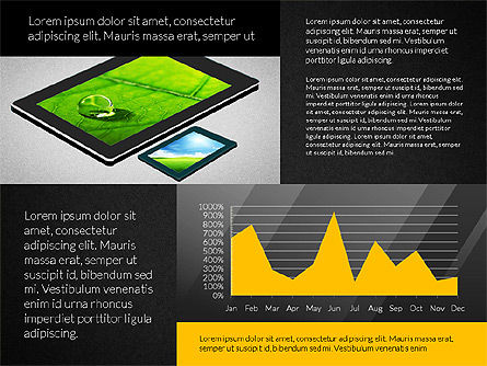 Touchpad Data Driven Presentation, Slide 9, 02806, Data Driven Diagrams and Charts — PoweredTemplate.com