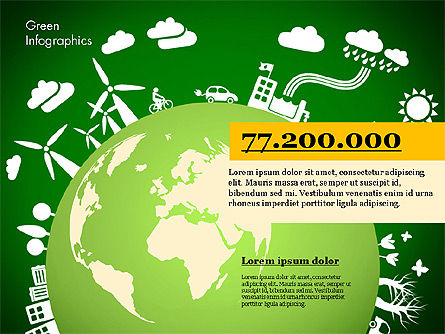 Green Infographic, Slide 2, 02808, Infographics — PoweredTemplate.com