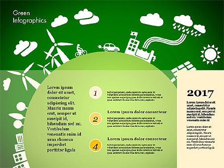 Green Infographic, Slide 3, 02808, Infographics — PoweredTemplate.com