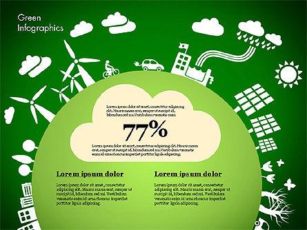 Green Infographic, Slide 8, 02808, Infographics — PoweredTemplate.com